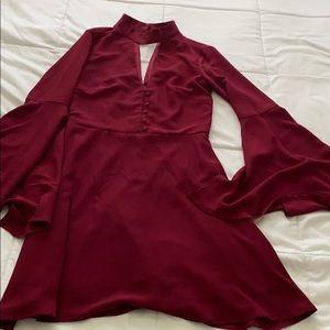 Socialite dress, S, long sleeve